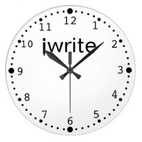 writers_clock_funny_iwrite_your_color_custom-r1b59efeb05a54d9dbbc7cc856e4b5815_fup13_8byvr_324