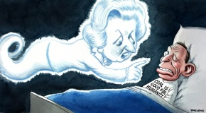 ghost of margaret thatcher